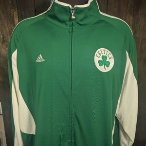 Boston Celtics Climalite Clima365 Warm-Up Jacket